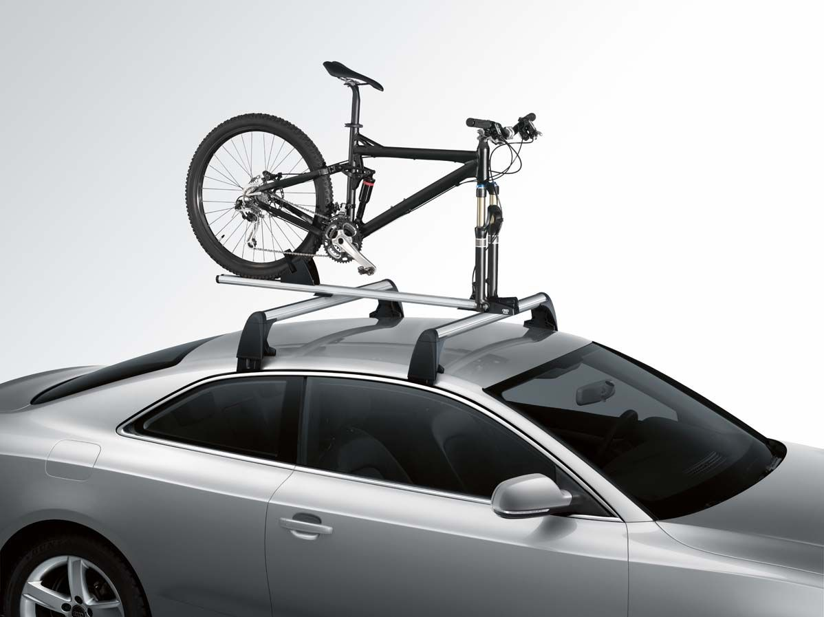 Porte vélo Thule sur toit présnetation