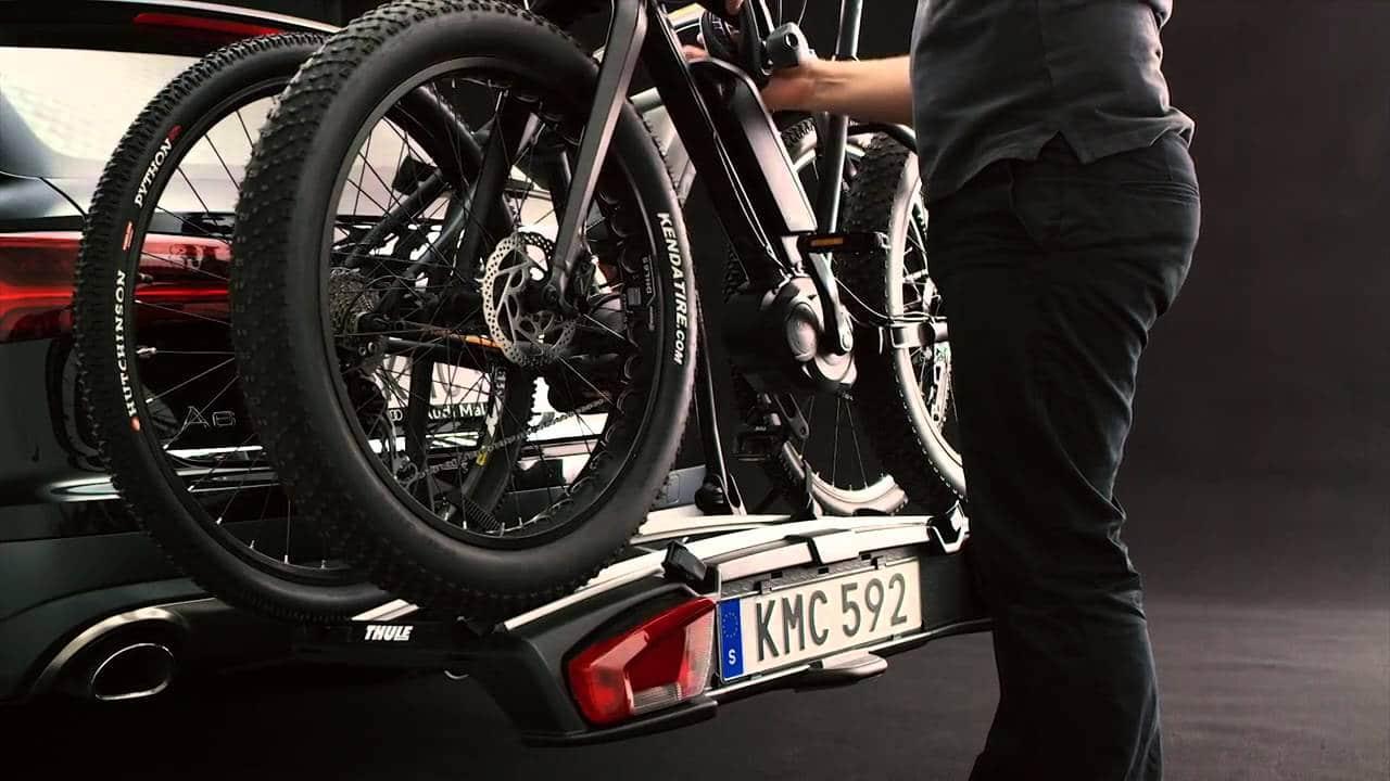 Porte vélo attelage Thule