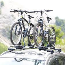 Porte-vélo de Toit de Voiture avec serrure
