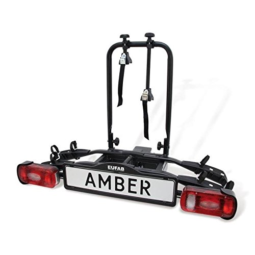 Eufab - Porte-vélos Plateforme sur attelage 2 vélos Amber II EUFAB