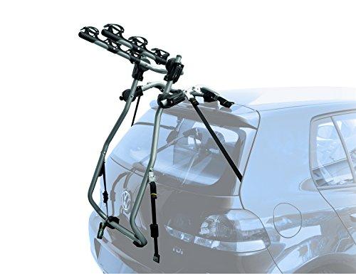 Peruzzo PE _ 620–Porte-vélos pour voiture–Support arrière 'Milano'–pour 3Vélos–Aluminium